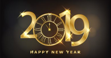 happy-new-year-2019-shining-background-with-gold-clock-and-glitter-vector
